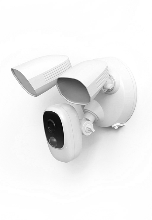Battery Floodlight Security Camera